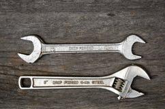 Инструменты стали ключа Стоковые Изображения