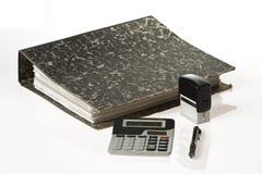 инструменты счетоводства стоковые фото