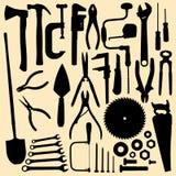 Инструменты Сarpentry Стоковые Изображения RF