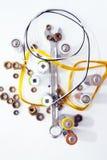 инструменты управляемые шкалой electro вверх Стоковая Фотография RF