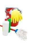 инструменты чистки Стоковое Изображение