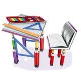 инструменты школы Стоковое фото RF