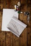 Инструменты эскиза и татуировки Стоковое Фото