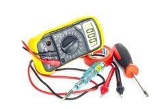 Инструменты электрика Стоковая Фотография RF