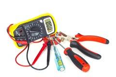 Инструменты электрика Стоковое Изображение