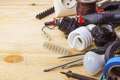 Инструменты электрика Стоковые Фотографии RF