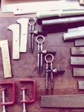 Инструменты ювелирных изделий стоковые фото