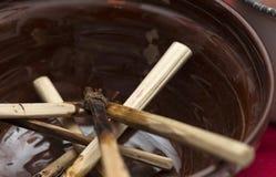 Инструменты для вощить пасхального яйца Стоковые Изображения
