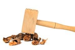 Инструменты для очищать грецких орехов Стоковые Фотографии RF