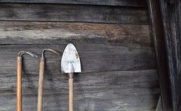 Инструменты для работы полей Стоковое Фото