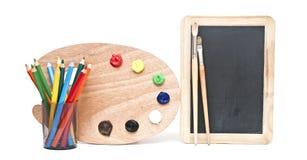 Инструменты для художника Стоковое Фото