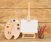 Инструменты для художника Стоковая Фотография RF