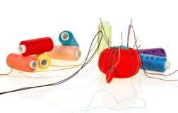 Инструменты для шить Стоковые Изображения RF