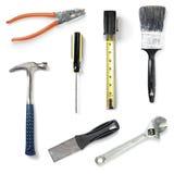 инструменты домашнего улучшения собрания Стоковые Изображения RF