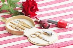 инструменты manicure Стоковое Изображение