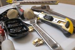 инструменты metalwork стоковые фото