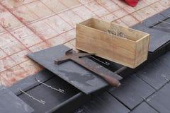 инструменты roofer Стоковое Изображение RF