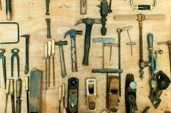 Инструменты ` s плотника Стоковая Фотография RF