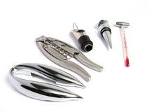 инструменты sommelier Стоковое Фото