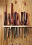 инструменты woodturning Стоковые Фотографии RF
