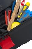 Инструмент в коробке Стоковое Изображение