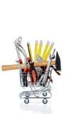 Инструмент в магазинной тележкае Стоковая Фотография