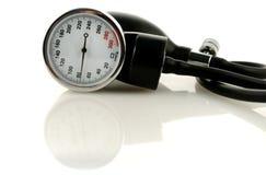 инструмент давления крови измеряя Стоковое Изображение