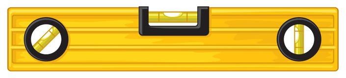 Инструмент здания ровный иллюстрация вектора