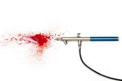 Инструмент искусства airbrush Стоковая Фотография