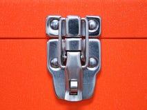 инструмент коробки предпосылки изолированный концом вверх по белизне Стоковая Фотография