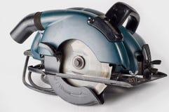 инструмент круглой пилы плотников Стоковое фото RF