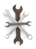 Инструмент ключа на белизне Стоковое Изображение RF