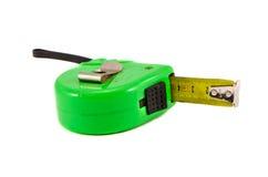Инструмент ленты измерения на белизне Стоковое Изображение RF
