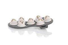 Инструмент массажа изолированный на белой предпосылке Стоковое Изображение RF