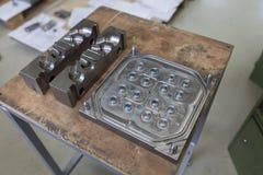 Инструмент металла для отливать в форму Стоковое Фото