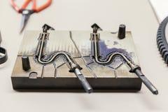 Инструмент металла для отливать в форму Стоковые Изображения RF