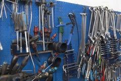 Инструмент механика автомобиля стоковое фото rf