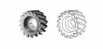 Инструмент механической обработки индустрии Стоковые Изображения