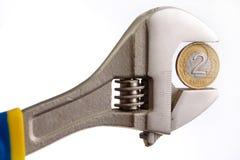 инструмент монетки Стоковые Фотографии RF