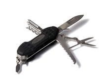 Инструмент ножа multi, изолированный на инструменте белого ножа multi, изолированном на белизне Стоковые Фото