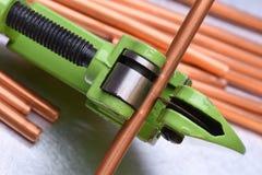 Инструмент резца трубы Стоковые Изображения RF