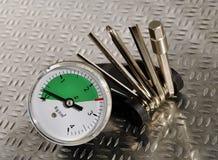 инструмент руки механически стоковая фотография rf