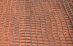 Инструмент сетки для очищать теннисный корт глины Стоковые Изображения RF