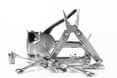 Инструмент универсалии плоскогубцев сшивателя Стоковая Фотография RF