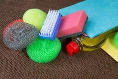 Инструмент чистки домочадца Стоковое фото RF