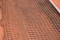 Инструмент чистки сетки теннисного корта Стоковая Фотография RF