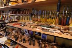 инструмент шкафа Стоковая Фотография