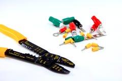 Инструмент Multi электрика цели изолированный на белизне Стоковое Изображение RF