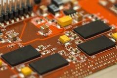 Интегральная схемаа специфического применения Стоковое Изображение RF