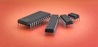 интегрированные цепи Стоковое фото RF